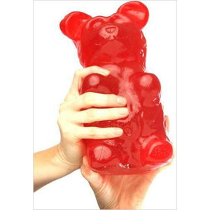 Giant Gummy Bear approx 5 Pounds - Find the most unique and unusual gifts. Weird gifts ideas that you never saw before. unusual gadgets, unique products that simply very odd at Gifteee Odd gifts, Unusual Gift ideas