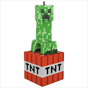 Minecraft Creeper Christmas Ornament-Home - www.Gifteee.com - Cool Gifts \ Unique Gifts - The Best Gifts for Men, Women and Kids of All Ages