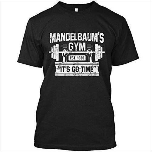 Mendalbaum's T-shirt - Seinfeld - Find the perfect gift for a sport fan, gifts for health fitness fans at Gifteee Cool gifts, Unique Gifts for wellness, sport and fitness