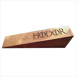 HODOR Door Stop (Game of Thrones) - Find the most unique and unusual gifts. Weird gifts ideas that you never saw before. unusual gadgets, unique products that simply very odd at Gifteee Odd gifts, Unusual Gift ideas