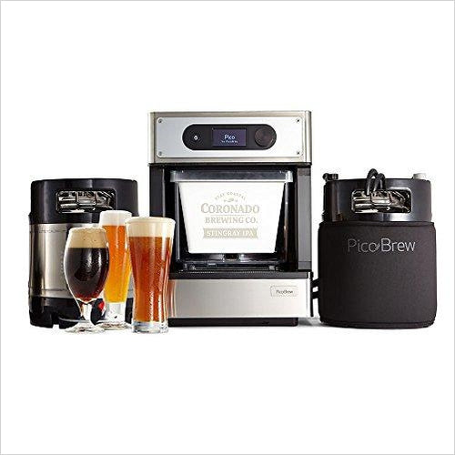 Craft Beer Brewing Appliance for Homebrewing-Kitchen - www.Gifteee.com - Cool Gifts \ Unique Gifts - The Best Gifts for Men, Women and Kids of All Ages