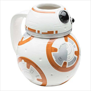 Star Wars BB-8 Coffee Cup-Kitchen - www.Gifteee.com - Cool Gifts \ Unique Gifts - The Best Gifts for Men, Women and Kids of All Ages