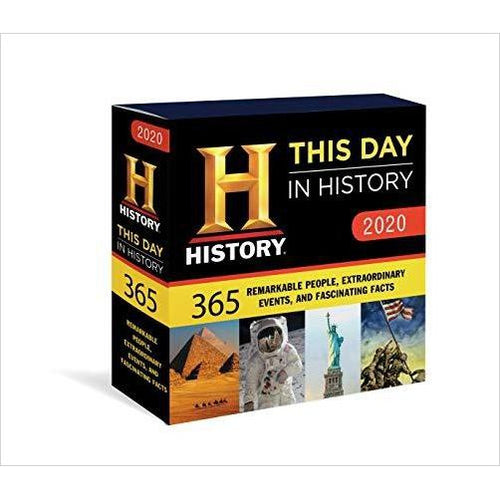 2020 History Channel This Day in History Boxed Calendar: 365 Remarkable People, Extraordinary Events, and Fascinating Facts-Book - www.Gifteee.com - Cool Gifts \ Unique Gifts - The Best Gifts for Men, Women and Kids of All Ages
