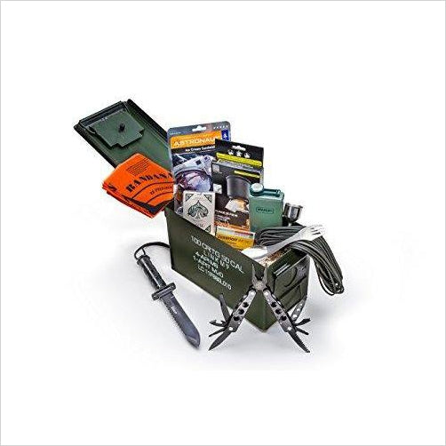 Acme Crate Survival Gift Set - Gifteee. Find cool & unique gifts for men, women and kids