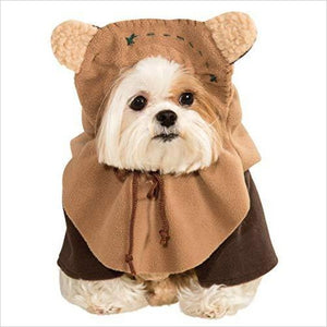 Star Wars Pet Costume, Medium, Ewok - Find unique gifts for pet lovers, amazing products for your cat, great gadgets for your dog and any other pet at Gifteee Cool gifts, Unique Gifts for pets and pet lovers