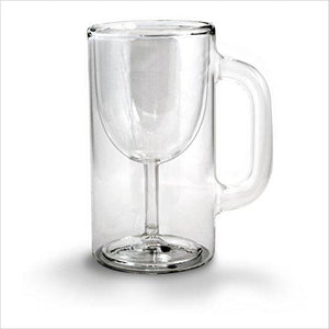 Double-Walled Stemware Mug-Kitchen - www.Gifteee.com - Cool Gifts \ Unique Gifts - The Best Gifts for Men, Women and Kids of All Ages