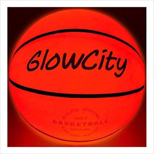 Light Up Basketball - Find the perfect gift for a sport fan, gifts for health fitness fans at Gifteee Cool gifts, Unique Gifts for wellness, sport and fitness