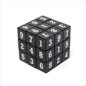 Sudoku Cube-Toy - www.Gifteee.com - Cool Gifts \ Unique Gifts - The Best Gifts for Men, Women and Kids of All Ages