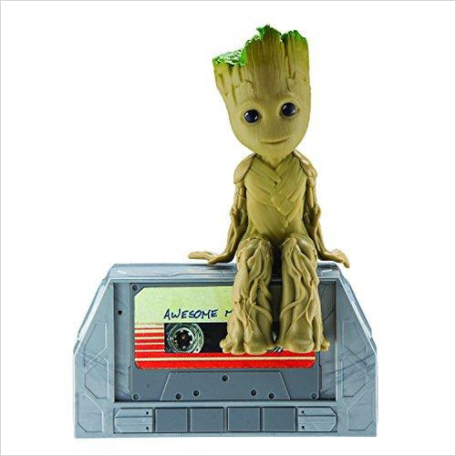 Dancing Groot Speaker Boombox Moves and Grooves to The Music-Toy - www.Gifteee.com - Cool Gifts \ Unique Gifts - The Best Gifts for Men, Women and Kids of All Ages