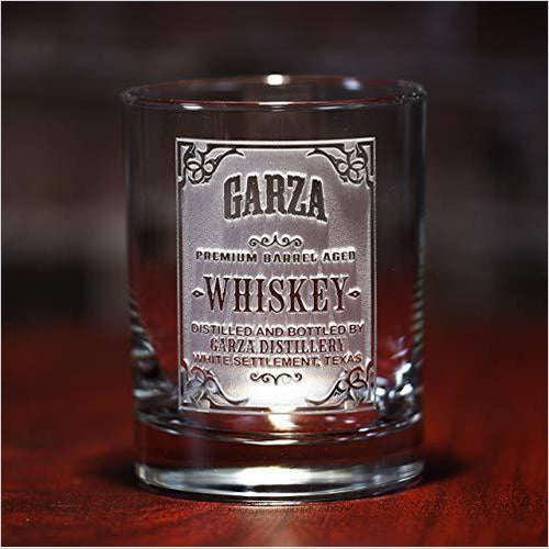 Personalized Whiskey Label, Scotch Bourbon Glasses-Guild Product - www.Gifteee.com - Cool Gifts \ Unique Gifts - The Best Gifts for Men, Women and Kids of All Ages