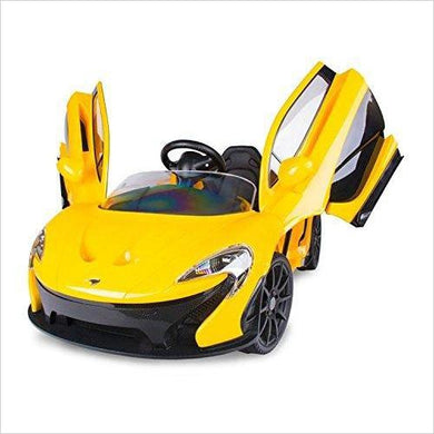 Official SuperCar McLaren Kids Ride on Car - Gifteee - Unique Gift Ideas for Adults & Kids of all ages. The Best Birthday Gifts & Christmas Gifts.
