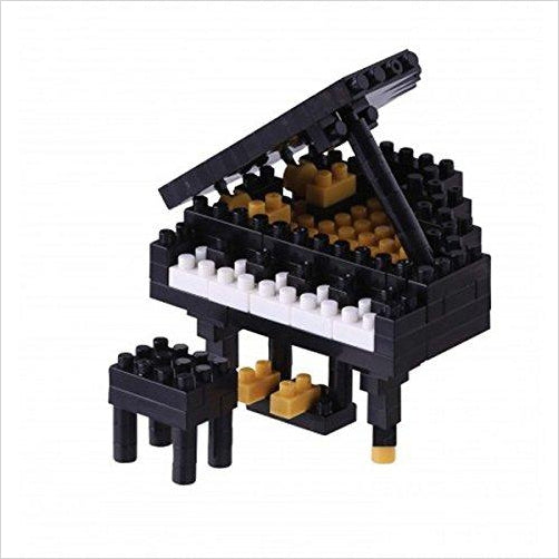 Nanoblock Grand Piano - Find unique for sound lovers, for music fans, for musicians, composers and everybody that love unique sound related gifts at Gifteee Cool gifts, Unique Gifts for sound and music