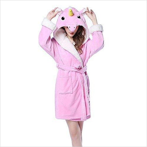 Unicorn Bath Robe - Find Unicorn gifts for girls and unicorn gifts for women, magical unicorn gifts ideas - jewelry, clothing, accessories and games at Gifteee Unique Gifts, Cool gifts for unicorn lovers
