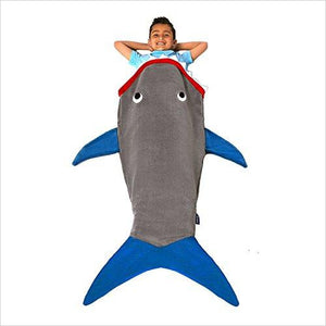 Shark Blanket - Gifteee. Find cool & unique gifts for men, women and kids
