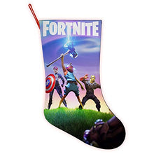 Load image into Gallery viewer, Fortnite Christmas Stocking