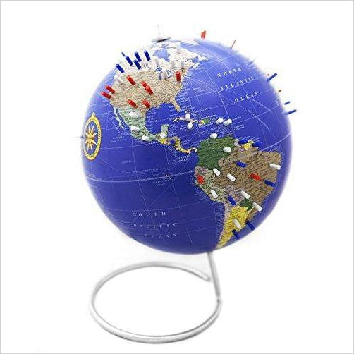 Magnetic World Globe - Find unique STEM gifts find science kits, educational games, environmental gifts and toys for boys and girls at Gifteee Cool gifts, Unique Gifts for science lovers