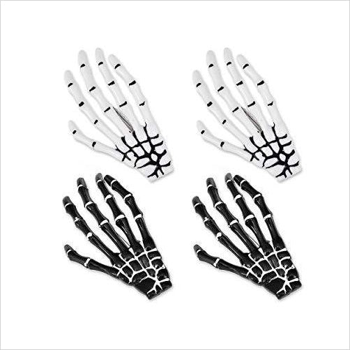 Gothic Skeleton Hands Hair Clips-Beauty - www.Gifteee.com - Cool Gifts \ Unique Gifts - The Best Gifts for Men, Women and Kids of All Ages