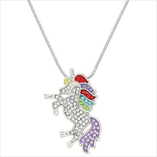 Unicorn Pendant Necklace-Jewelry - www.Gifteee.com - Cool Gifts \ Unique Gifts - The Best Gifts for Men, Women and Kids of All Ages