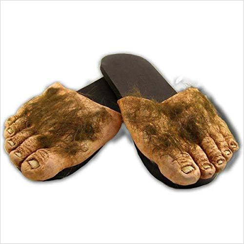 Hairy Feet Slippers - Gifteee. Find cool & unique gifts for men, women and kids