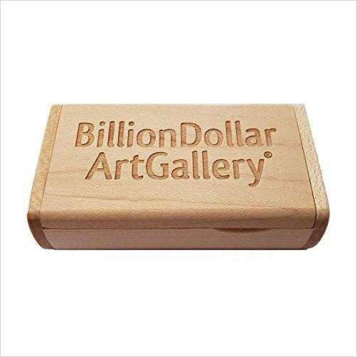 Billion Dollar Art Gallery - Transform Your TV Into Wall Art-Home - www.Gifteee.com - Cool Gifts \ Unique Gifts - The Best Gifts for Men, Women and Kids of All Ages