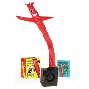 Wacky Waving Inflatable Tube Guy (Miniature Editions)-dancing tube - www.Gifteee.com - Cool Gifts \ Unique Gifts - The Best Gifts for Men, Women and Kids of All Ages