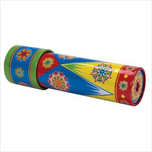 Classic Tin Kaleidoscope - Find unique STEM gifts find science kits, educational games, environmental gifts and toys for boys and girls at Gifteee Cool gifts, Unique Gifts for science lovers