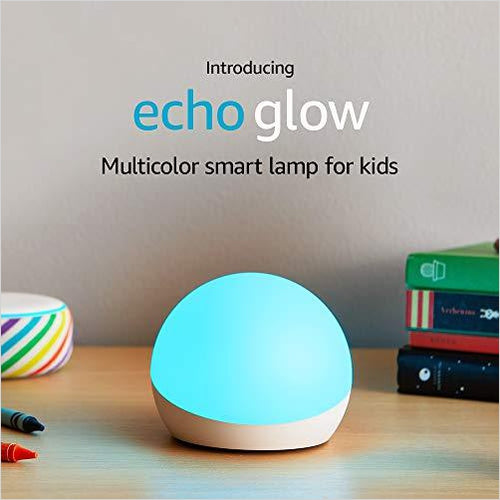 Echo Glow - multicolor smart lamp for kids - Gifteee. Find cool & unique gifts for men, women and kids