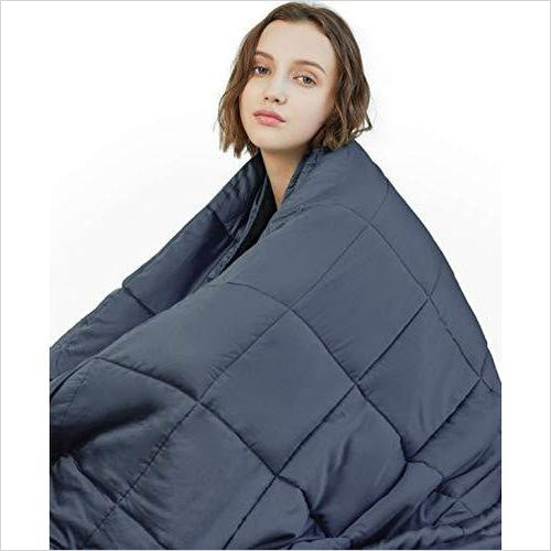 Therapeutic Weighted Blanket-Home - www.Gifteee.com - Cool Gifts \ Unique Gifts - The Best Gifts for Men, Women and Kids of All Ages