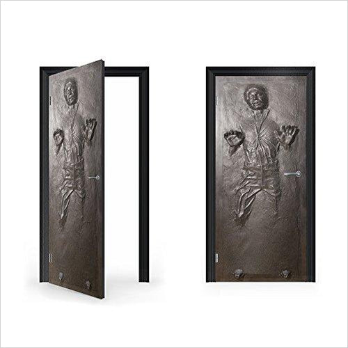 Han Solo in Carbonite Vinyl Sticker for the Door-Home - www.Gifteee.com - Cool Gifts \ Unique Gifts - The Best Gifts for Men, Women and Kids of All Ages