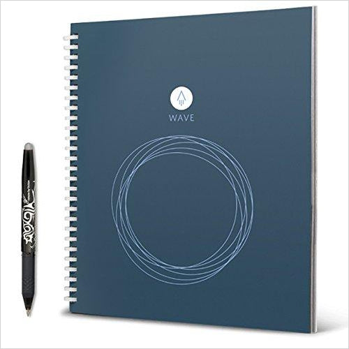 Rocketbook Wave Smart Notebook-Office Product - www.Gifteee.com - Cool Gifts \ Unique Gifts - The Best Gifts for Men, Women and Kids of All Ages
