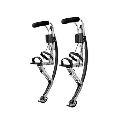 Kangaroo Shoes Jumping Stilts - Adults - Find the perfect gift for a sport fan, gifts for health fitness fans at Gifteee Cool gifts, Unique Gifts for wellness, sport and fitness