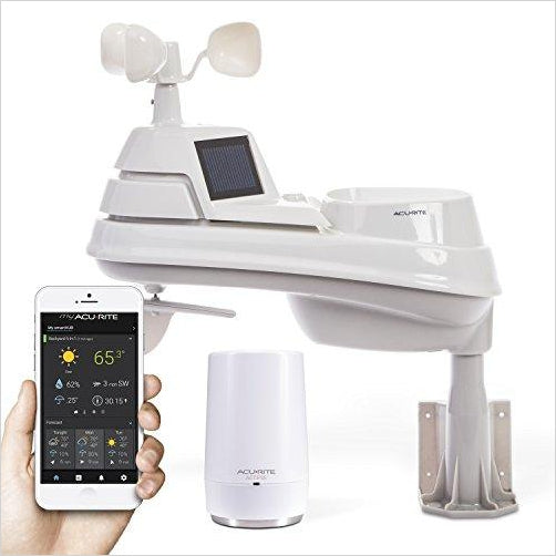 Weather Station with Access for Remote Monitoring, Compatible with Amazon Alexa-Home - www.Gifteee.com - Cool Gifts \ Unique Gifts - The Best Gifts for Men, Women and Kids of All Ages