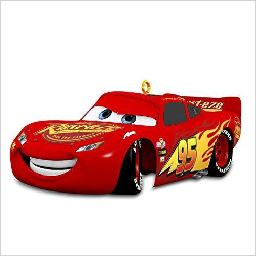 Disney Cars 3 Lightning-McQueen Sound Christmas Ornament-Home - www.Gifteee.com - Cool Gifts \ Unique Gifts - The Best Gifts for Men, Women and Kids of All Ages