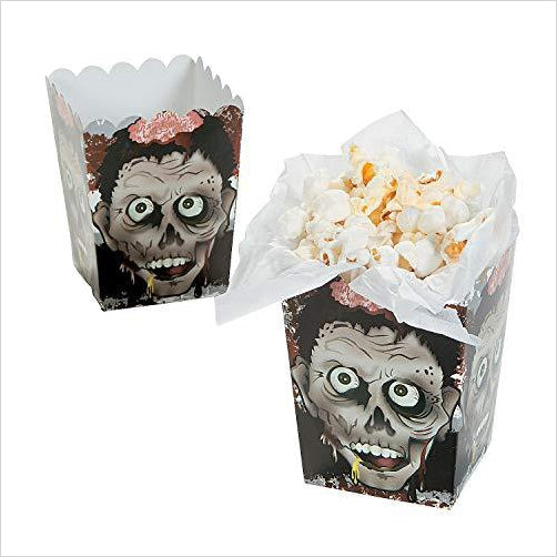 Zombie Head Popcorn Boxes - Gifteee. Find cool & unique gifts for men, women and kids