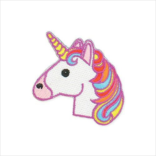 Magical Unicorn Embroidered Iron On Patch Applique - Find Unicorn gifts for girls and unicorn gifts for women, magical unicorn gifts ideas - jewelry, clothing, accessories and games at Gifteee Unique Gifts, Cool gifts for unicorn lovers