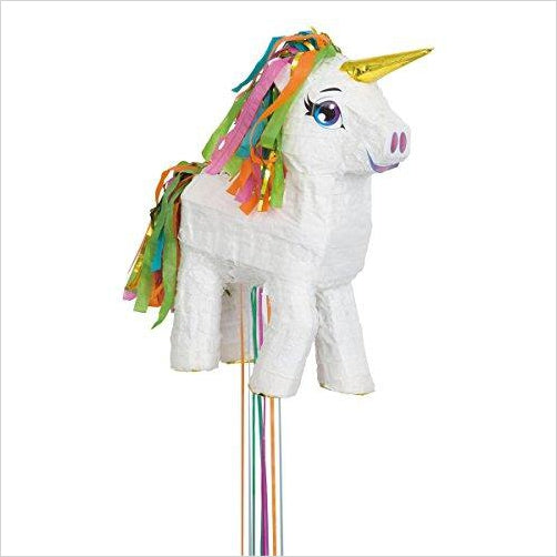 Unicorn Pinata, Pull String - Find Unicorn gifts for girls and unicorn gifts for women, magical unicorn gifts ideas - jewelry, clothing, accessories and games at Gifteee Unique Gifts, Cool gifts for unicorn lovers