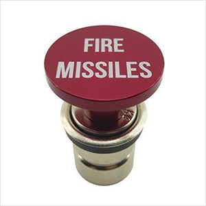 Car Fire Missiles Button-Automotive Parts and Accessories - www.Gifteee.com - Cool Gifts \ Unique Gifts - The Best Gifts for Men, Women and Kids of All Ages