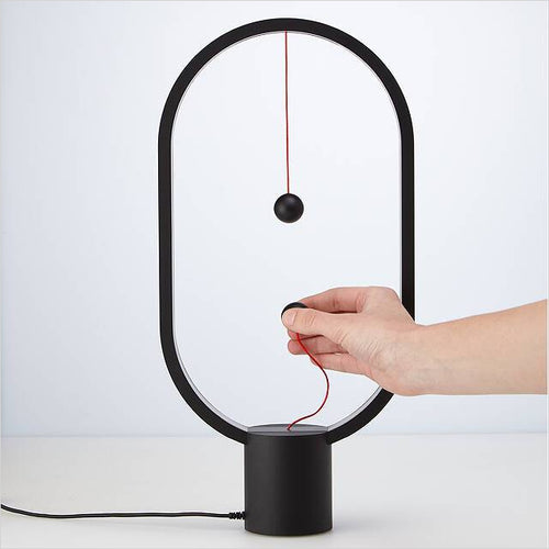 The Magnetic Balance Lamp-lamp - www.Gifteee.com - Cool Gifts \ Unique Gifts - The Best Gifts for Men, Women and Kids of All Ages