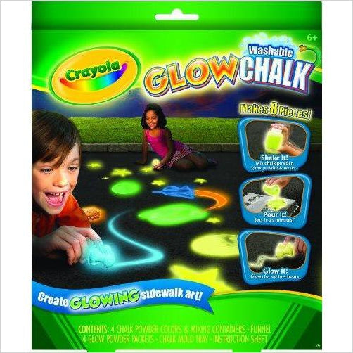 Crayola Glow Chalk Maker-Toy - www.Gifteee.com - Cool Gifts \ Unique Gifts - The Best Gifts for Men, Women and Kids of All Ages