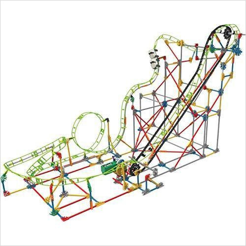 Roller Coaster Building Set-Toy - www.Gifteee.com - Cool Gifts \ Unique Gifts - The Best Gifts for Men, Women and Kids of All Ages
