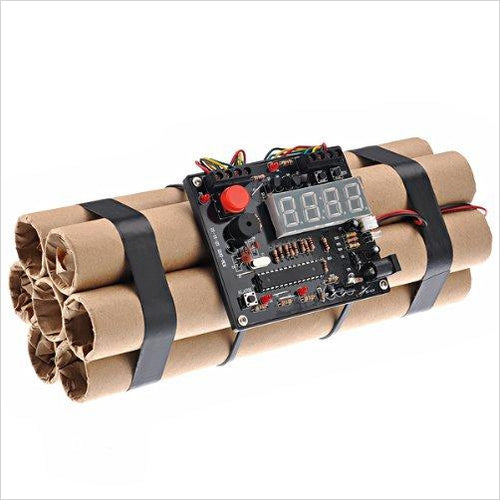 Bomb Shape Defusable Bomb Alarm Clock-Speakers - www.Gifteee.com - Cool Gifts \ Unique Gifts - The Best Gifts for Men, Women and Kids of All Ages
