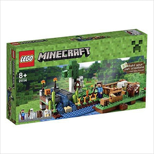 LEGO Minecraft (21114) The Farm-Toy - www.Gifteee.com - Cool Gifts \ Unique Gifts - The Best Gifts for Men, Women and Kids of All Ages