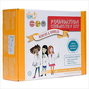 Foundation Chemistry Kit-Toy - www.Gifteee.com - Cool Gifts \ Unique Gifts - The Best Gifts for Men, Women and Kids of All Ages
