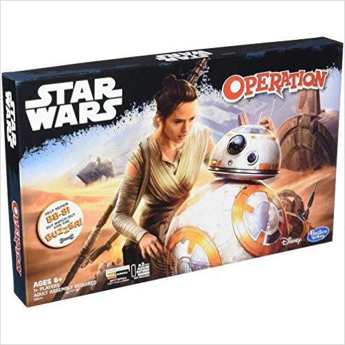 Operation Game: Star Wars Edition-Toy - www.Gifteee.com - Cool Gifts \ Unique Gifts - The Best Gifts for Men, Women and Kids of All Ages
