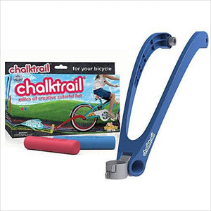 Bicycles Chalk Trail - Find unique arts and crafts gifts for creative people who love a new hobby or expand a current hobby, art accessories, craft kits and models at Gifteee Cool gifts, Unique Gifts for arts and crafts lovers