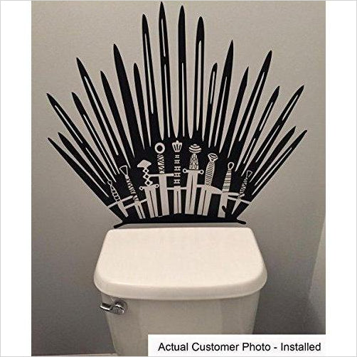 Game of Thrones - Iron Throne Toilet-Home - www.Gifteee.com - Cool Gifts \ Unique Gifts - The Best Gifts for Men, Women and Kids of All Ages