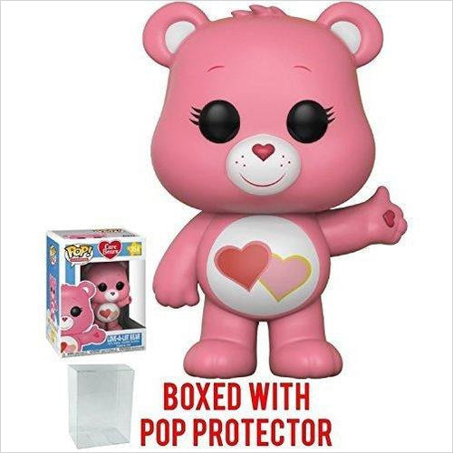 Funko Pop! Animation: Care Bears - Love-a-Lot Bear Vinyl Figure - Find unique gifts for a newborn baby and cool gifts for toddlers ages 0-4 year old, gifts for your kids birthday or Christmas, special baby shower gifts and age reveal gifts at Gifteee Unique Gifts, Cool gifts for babies and toddlers