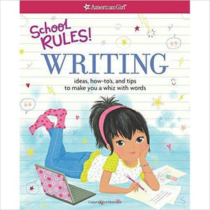 School Rules! Writing: Ideas, How-To's, and Tips to Make You a Whiz with Words - Find unique STEM gifts find science kits, educational games, environmental gifts and toys for boys and girls at Gifteee Cool gifts, Unique Gifts for science lovers