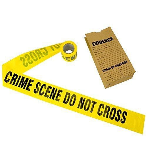 Crime Scene Tape, 100 ft Roll - Gifteee. Find cool & unique gifts for men, women and kids