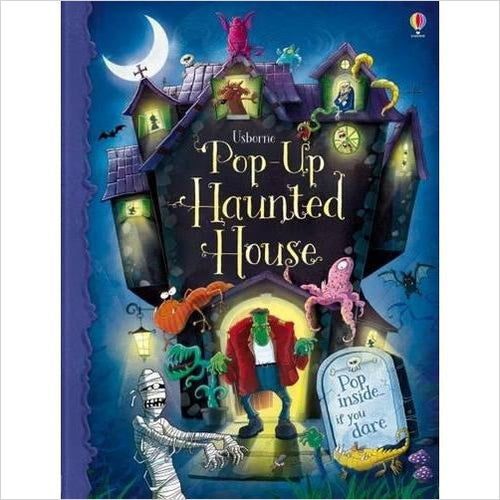 Pop-Up Haunted House-Book - www.Gifteee.com - Cool Gifts \ Unique Gifts - The Best Gifts for Men, Women and Kids of All Ages